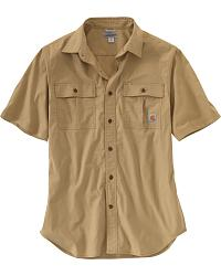 Men's Short Sleeve Work Shirts