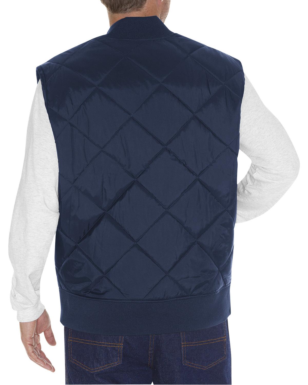 Dickies Men S Diamond Quilted Nylon Work Vest Te242dn Ebay