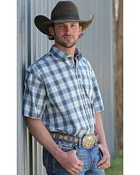 Men's Plaid Short Sleeve Shirts
