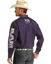 Wrangler Men S Ram Rodeo Series Shirt Sheplers
