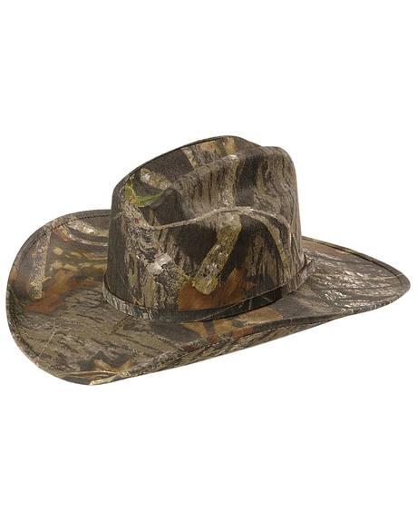 Mossy Oak Camouflage Cowboy Hat Sheplers