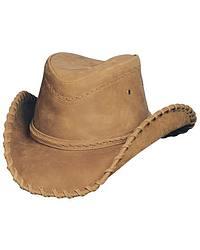 Men's Leather Cowboy Hats