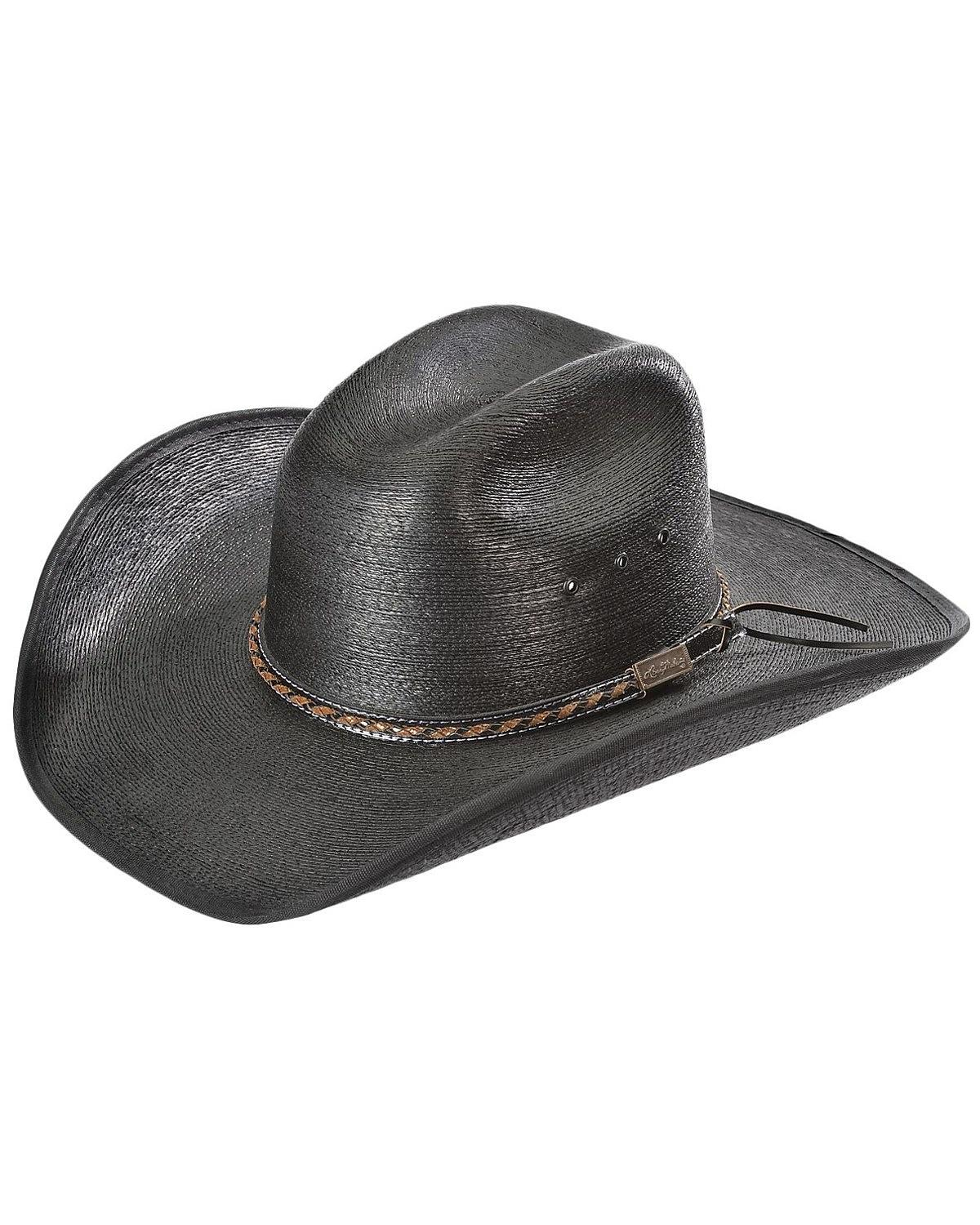 Larry Mahan Men's 30X Lawton Palm Straw Cowboy Hat - MS ...