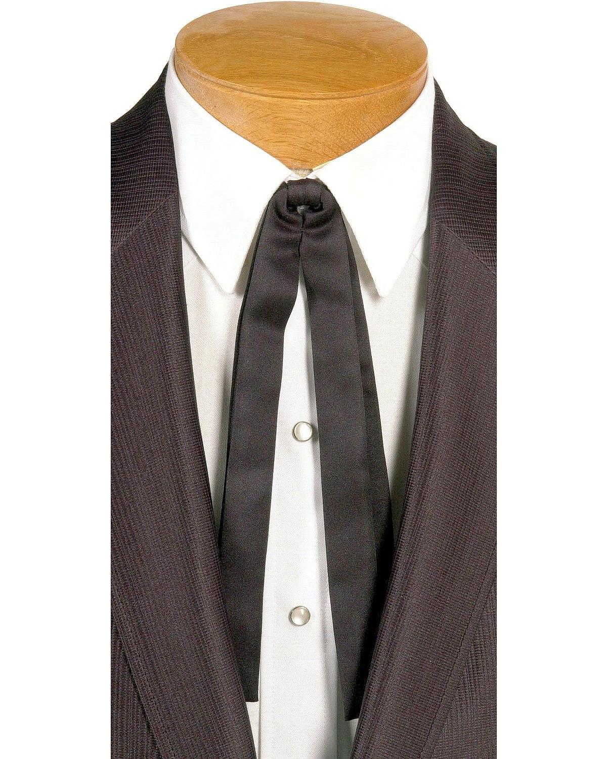 Steampunk Clothing- Men's    Western Double String Tie - 1419-13 $20.42 AT vintagedancer.com