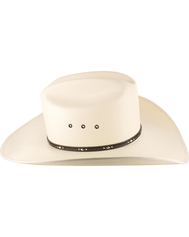 92a3ca6b90e79 Resistol George Strait Men s Kingman 10X Straw Cowboy Hat - RSKNGK ...