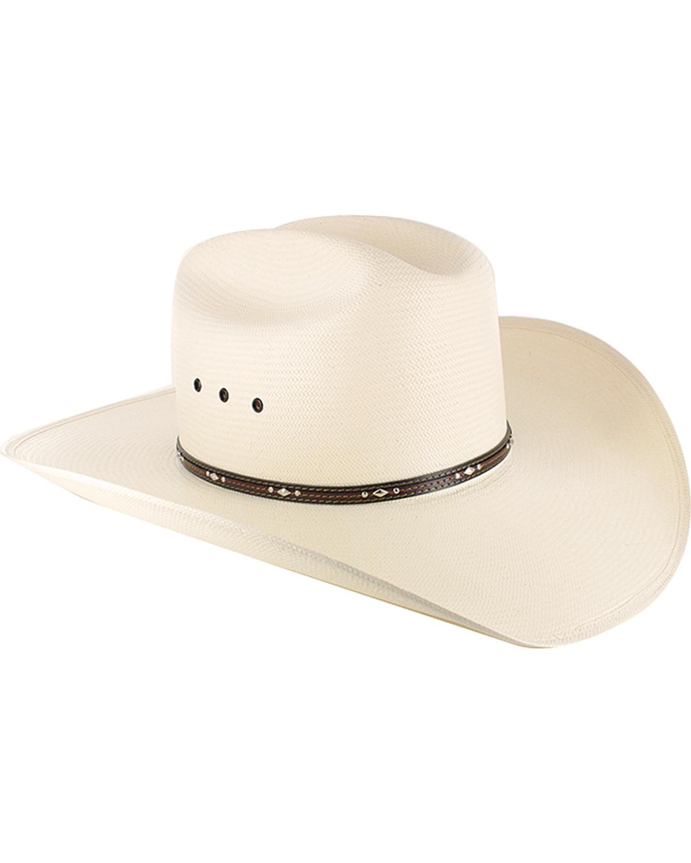 4adad60ea23c1 Resistol George Strait Men s Kingman 10X Straw Cowboy Hat - RSKNGK ...