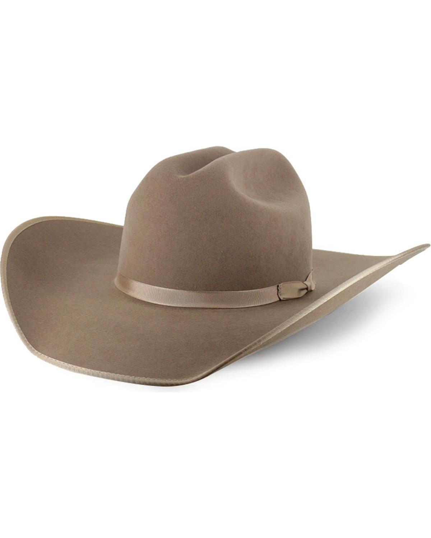 0c59d1f134d18 Image is loading Rodeo-King-Ash-5X-Felt-Cowboy-Hat-48