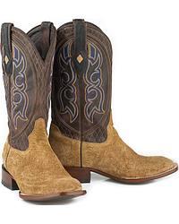 Men's Hippo Skin Cowboy Boots