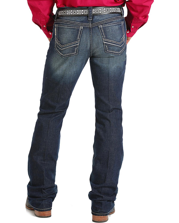 Cinch Men's Ian Slim Boot Cut Performance Jeans - MB60636001