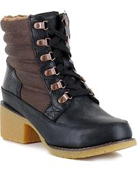 Women's Lace-Up Boots