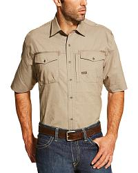Short Sleeve Work Shirts