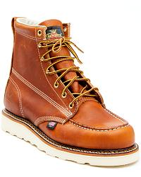 Men's Lace-Up Work Boots