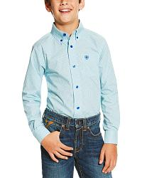 All Boys' Ariat Western Shirts