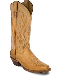Women's Yellow Cowgirl Boots
