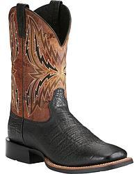 Men's Exotic Print Cowboy Boots