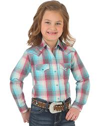 Girls' Western Tops
