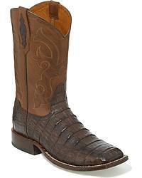 Men's Caiman Skin Cowboy Boots