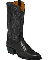 Men's Lizard Skin Cowboy Boots