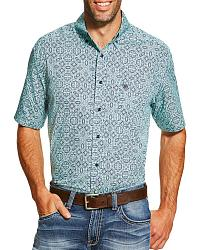Men's Ariat Print Short Sleeve Shirts