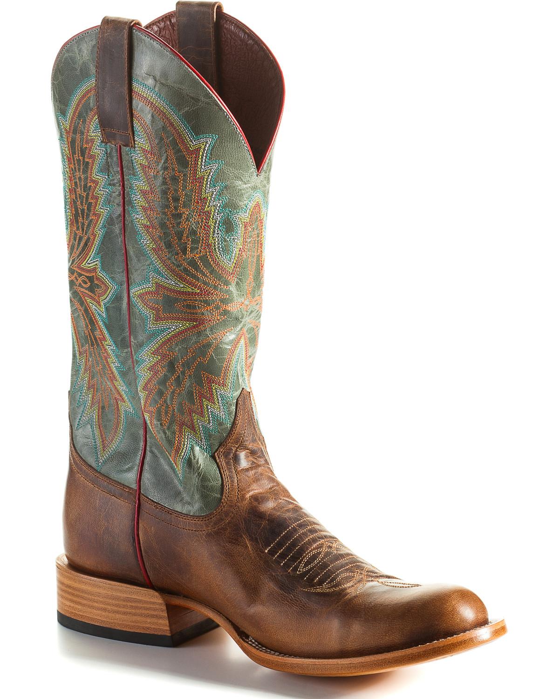 Horse Power Men's Saddle Mad Dog Cowboy avvio - Round Toe - HP6003