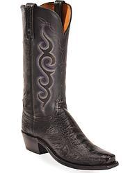 Women's Lucchese Handmade Ostrich Leg Cowgirl Boots