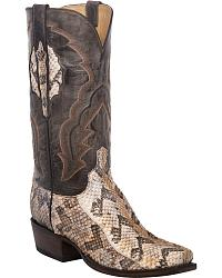 Men's Lucchese Handmade Snake Skin Cowboy Boots