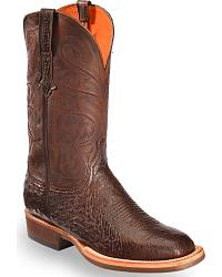 Men's Handmade Smooth Ostrich Cowboy Boots