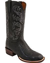 Men's Handmade Ostrich Leg Cowboy Boots