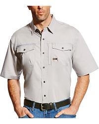 Men's Ariat Short Sleeve Work Shirts