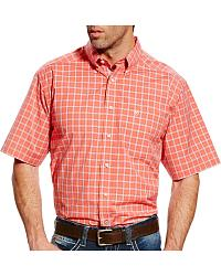 Men's Ariat Plaid Short Sleeve Shirts