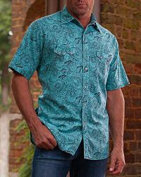 Men's Print Short Sleeve Shirts
