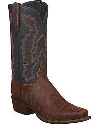 Men's Handmade Elephant Skin Cowboy Boots