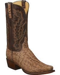 Men's Elephant Skin Cowboy Boots