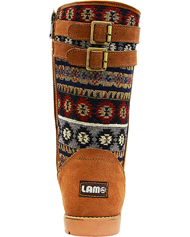 Lamo Women's Women's Women's Melanie Suede Winter Boot - Round Toe - EW1738-CHN 6e51d4