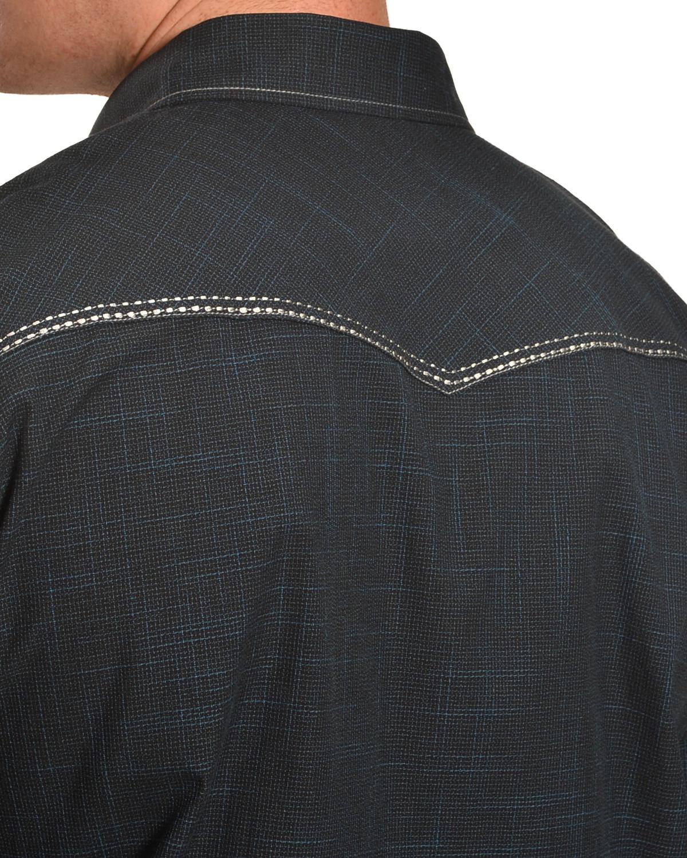 c061a920 Cowboy Hardware Men's Navy Burlap Western Shirt - 125229-480 | eBay