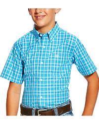 Boys' Short Sleeve Ariat Shirts