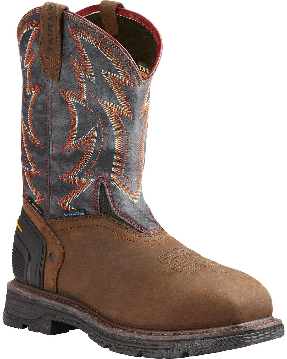 d2fa82f1932 Details about Ariat Men's Catalyst VX Thunder Work Boot - Composite Toe -  10023062