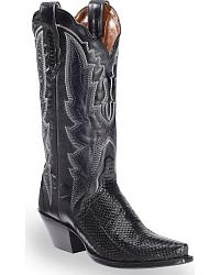 Women's Snake Skin Cowgirl Boots