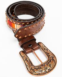 Women's Western Belts & Buckles