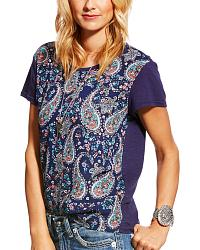 Women's Ariat Short Sleeve Tops