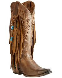Women's Ariat Fringe Cowgirl Boots