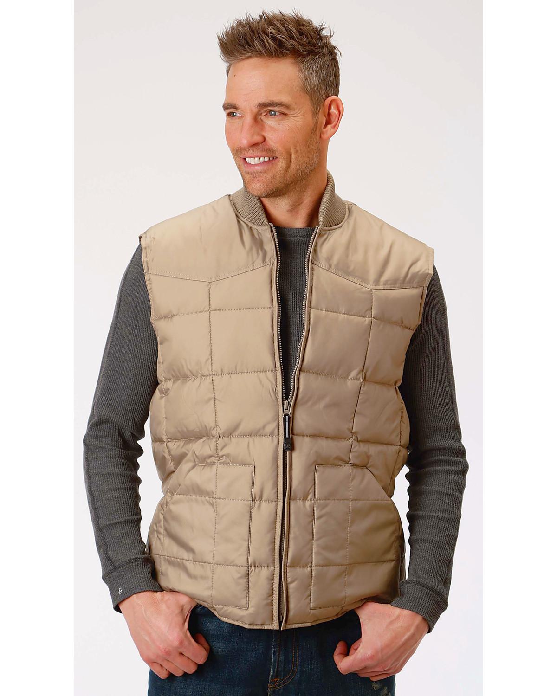 Roper Men's Rangegear Insulated Vest - 03-097-0763-0522 BL