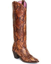 Women's Exotic Print Boots