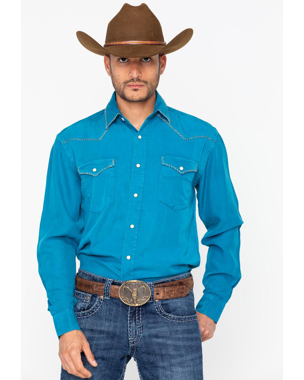 Panhandle Men's Long Sleeve Western Shirt - R0S7618