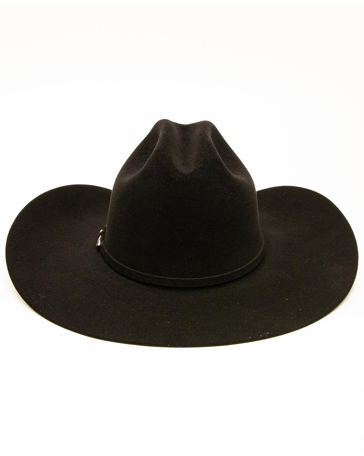 6c06705bc50f2b Rodeo King Men's 10X Low Felt Hat - SU | eBay