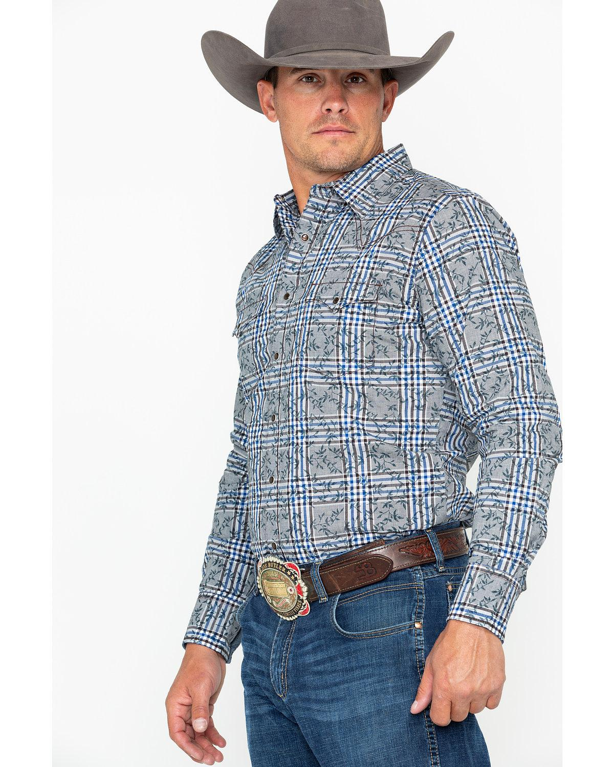 9262e96943 Wrangler Long Sleeve Western Shirts – EDGE Engineering and ...