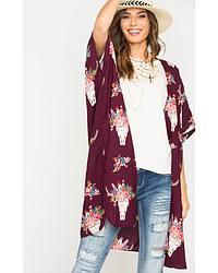 Women's Ponchos & Kimonos