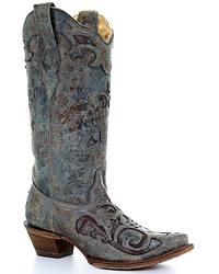 Women's Lizard Skin Cowgirl Boots