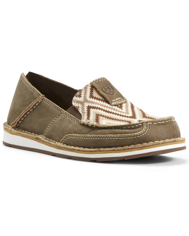 Ariat Women's Aztec Cruiser Shoes - Moc Toe - 10027385