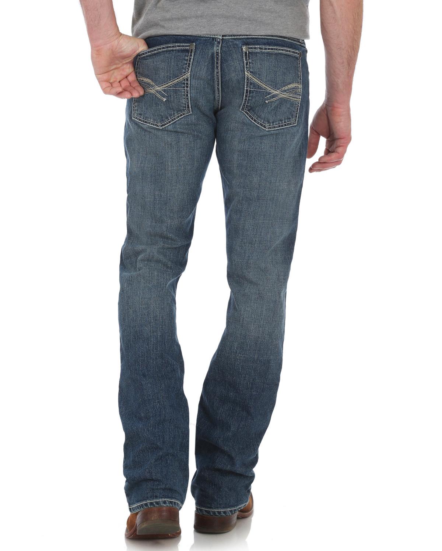 db57a2db Wrangler 20X Men's No. 42 Vintage Boot Cut Jeans - 42MWXMT | eBay